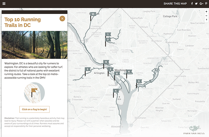 Running trails near me find local running paths in dc for Find a local builder