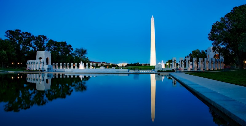 memorial day sights in DC