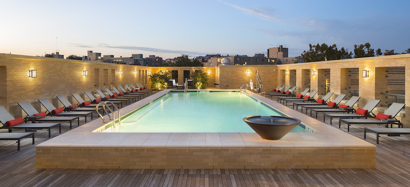 outdoor pool in DC
